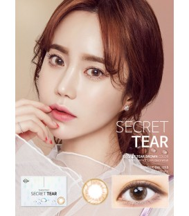 LENSME SECRET TEAR BROWN