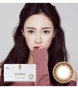 LENSME SECRET KISS BROWN