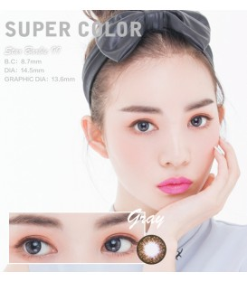 SUPER COLOR STAR BARBIE II GRAY